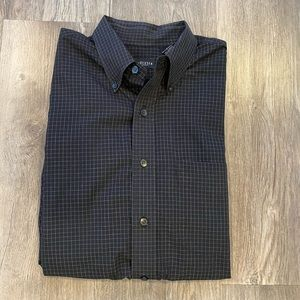 Van Heusen Men's Long Sleeved Dress Shirt-…